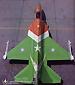 枭龙战机身披中巴两国国旗涂装