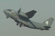 意大利C-27J军用运输机短距起飞
