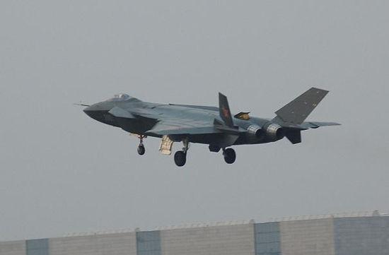 资料图:网络上流传的中国歼-20隐形战机试飞图片