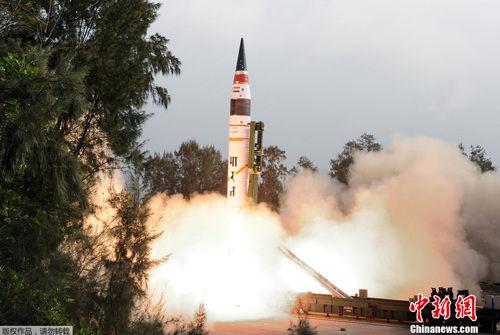 印度媒体称如果将烈火-5移到印度东北部,中国最北部的哈尔滨就处在打击范围内。