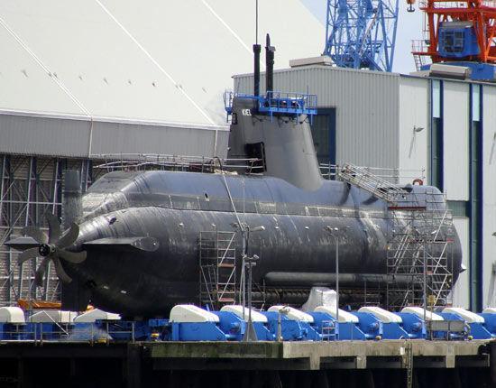 资料图:希腊向德国采购214型潜艇