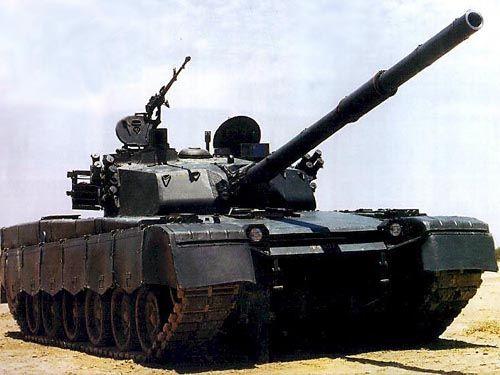 资料图:MBT-2000主战坦克