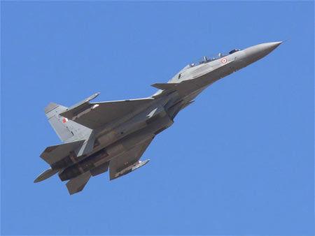 资料图:印度空军苏-30MKI战机
