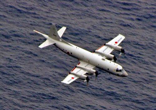 资料图:日本P-3C巡逻机