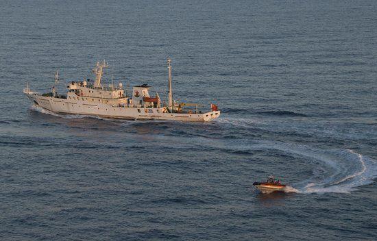 资料图:中国渔政202号船
