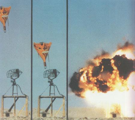 资料图:无人机攻击雷达示意图