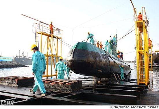 """伊朗海军""""卡迪尔""""级小型潜艇"""