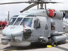 """新加坡展示""""海鹰""""反潜直升机及鱼雷"""