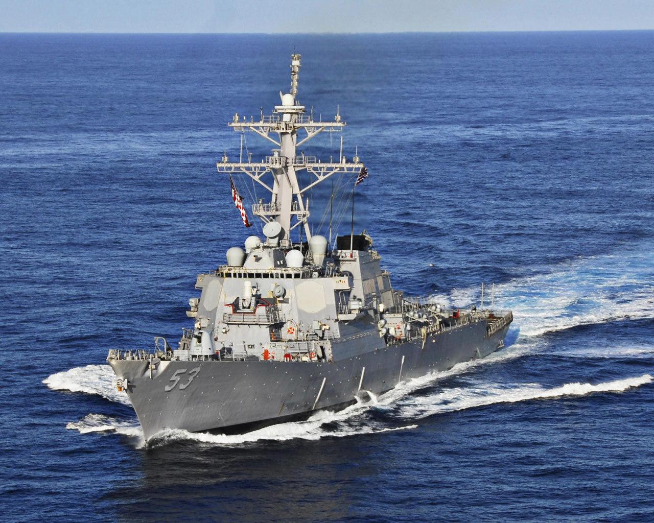 """一代经典――美国海军阿利-伯克级宙斯盾舰""""约翰-保罗-琼斯""""号(DDG-53)"""
