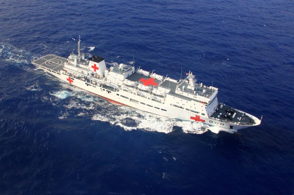 """""""和平方舟""""号医院船"""