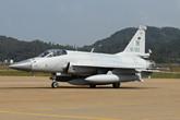 巴基斯坦空军枭龙战机抵达珠海
