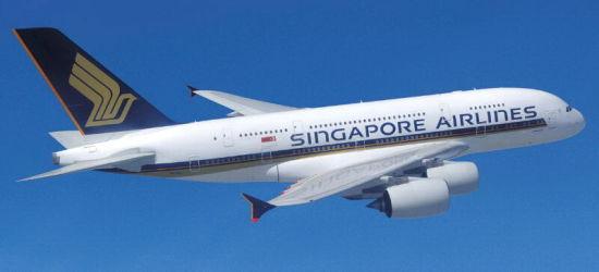 新加坡航空A380-800-新航确认增购5架A380及20架A350XWB飞机 图