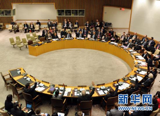 1月22日,在美国纽约联合国总部,安理会各理事国在表决中投赞成票。当日,联合国安理会一致通过关于朝鲜发射卫星问题的第2087号决议。该决议要求朝鲜遵守安理会有关决议规定,不得再使用弹道导弹技术进行发射。新华社记者申宏摄
