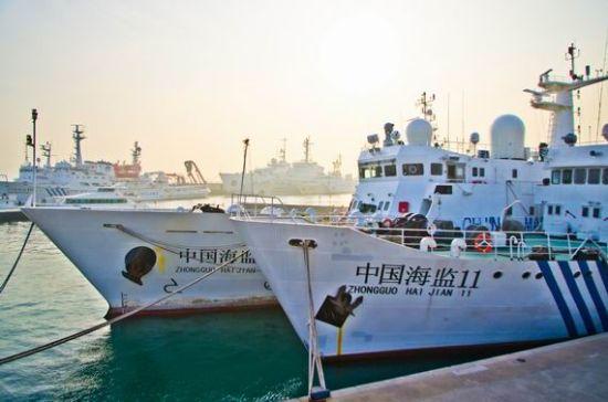 资料图:中国海监船