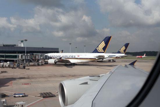 资料图:新加坡樟宜机场。(摄影:陈诚 版权所有 不得转载)