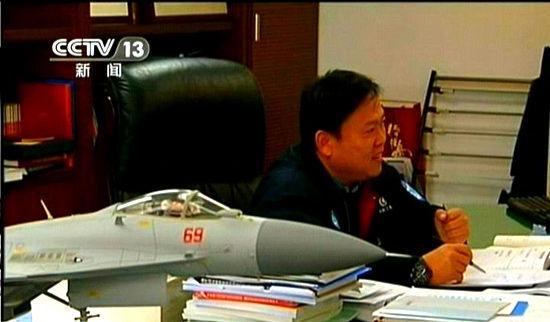 资料图:歼-15战斗机总设计师孙聪