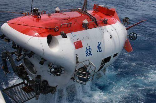 资料图:中国蛟龙号载人深潜器