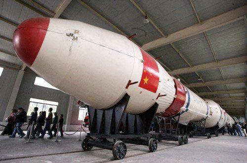 资料图:中国长征运载火箭