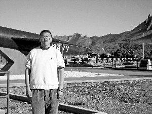 《我在美军航母上的8年》一书作者