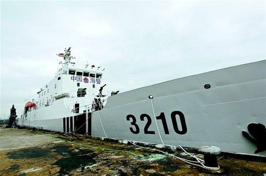 资料图:中国海警3210船