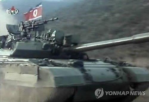 """朝鲜""""暴风号""""主战坦克"""