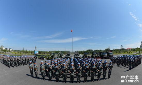 中国首批赴马里维和部队