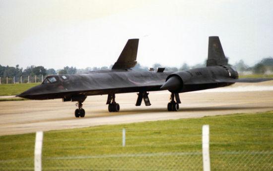 资料图:美军SR-71侦察机