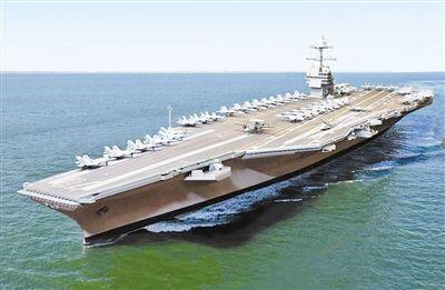 聚焦美军新型核航母 五大视角预览 福特 号