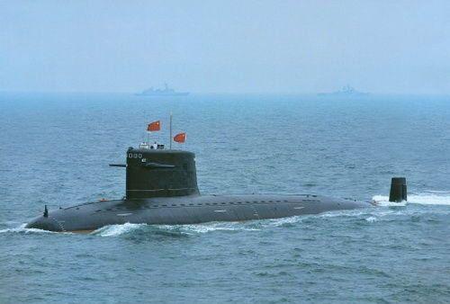 """资料图:被誉为""""水下先锋艇""""的091型403号攻击核潜艇"""