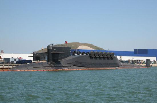 资料图:094型战略核潜艇