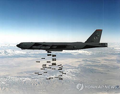 美军B-52轰炸机(资料图)