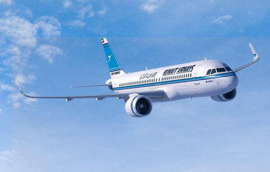 科威特航空A320neo飞机