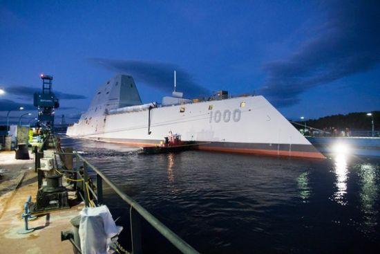 资料图:美称新下水超级战舰可破解中国军事战略