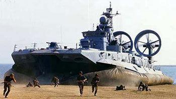 中国海军订购了4艘欧洲野牛气垫艇 已开始接收