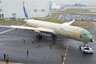 首架A350进入户外测试阶段