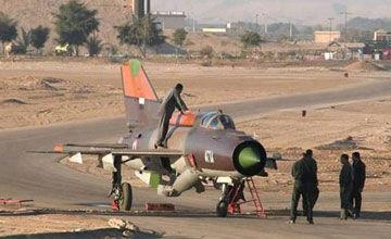 叛逃到约旦的叙利亚空军米格21战斗机
