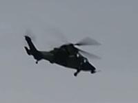 虎式直升机双机飞行