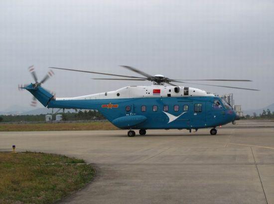 资料图:不久前,网络上出现了数张中国解放军部队装备的新型直升机的照片。从照片中看,这架直升机与我国目前所装备的直-8型直升机有几分相似,据悉,这很可能是我国最新研制的直-18型号。