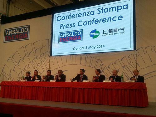 上海电气集团股份有限公司在意大利热那亚市与意大利战略基金公司正式签署协议,拟出资4亿欧元向其收购意大利安萨尔多能源公司40%股权。安萨尔多公司在意大利、荷兰、阿联酋、美国、印度等地拥有机构,是仅次于GE、西门子、三菱,并与阿尔斯通年产量相当的著名重型燃机厂商。(资料图)