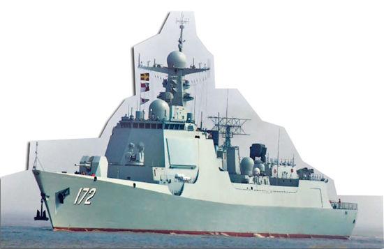 资料图:昆明舰(中国军网)