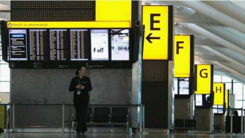 希思罗机场即将对来自埃博拉疫区的旅客进行筛查