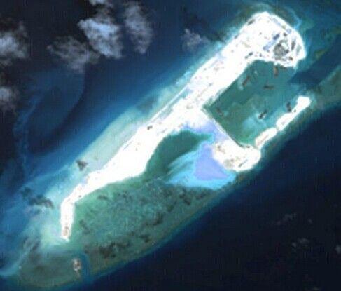 永暑礁建设规划图_中国在永暑 -南沙群岛建设规划 规划建设 中国铁