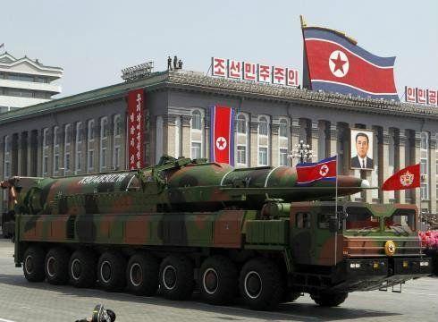 资料图:朝鲜KN-08洲际就是采用了中国的重型载车