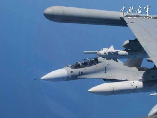 资料图:中国拦截日本军机已经不是第一回了