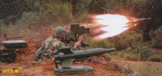 资料图:红箭73反坦克导弹