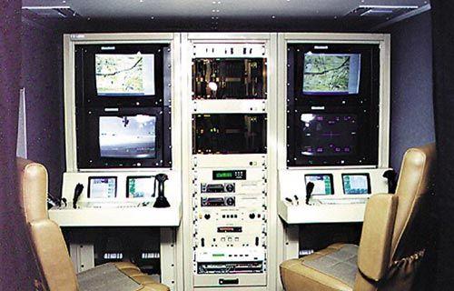 资料图:捕食者无人机的地面控制站