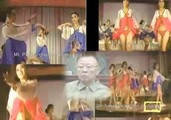 金正日的生活秘闻:令女演员裸体跳迪斯科(图)