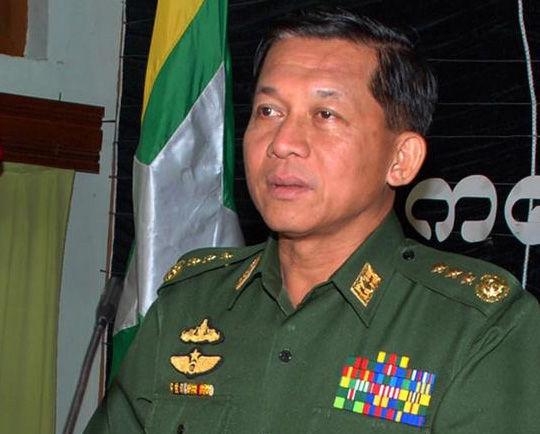 缅甸国防军总司令敏昂莱