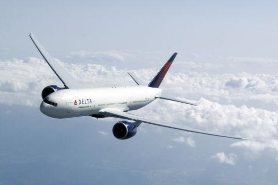 美国达美航空。