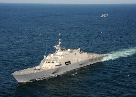 LCS的航速很快,很可能被美国人用来试探南沙岛礁12海里线